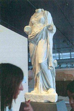 Héros : Statue d'Hygie