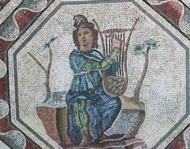 Héros : Orphée et sa lyre