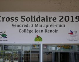 Cross solidaire collège Jean Renoir